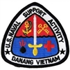 US Naval Support Activity Danang Vietnam Patch