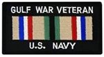 Gulf War Veteran US Navy Patch