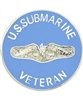 VIEW US Sub Veteran Lapel Pin