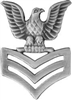 VIEW US Navy PO1 Collar Insignia