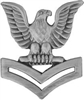 VIEW US Navy PO2 Collar Insignia