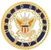 VIEW USN Official Seal Lapel Pin