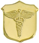 VIEW US Navy Corpsman Lapel Pin