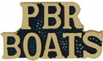 VIEW PBR Boats Lapel Pin