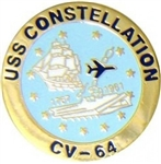 VIEW USS Constellation Lapel Pin