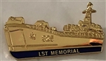 VIEW US Navy LST Memorial Lapel Pin