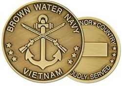 Brown Water Navy Challenge Coin