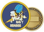 Seabees Challenge Coin