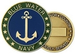 Blue Water Navy Challenge Coin