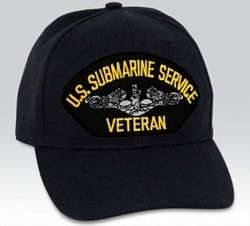 US Submarine Service Veteran BALL CAP or PATCH