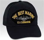 The Best Marine Is A Submarine BALL CAP or PATCH
