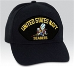 United States Navy Seabees BALL CAP or PATCH