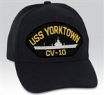 USS Yorktown (CV-10) BALL CAP or PATCH