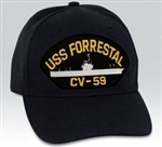USS Forrestal (CV-59) BALL CAP or PATCH