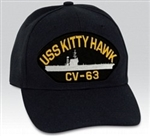 USS Kitty Hawk (CV-63) BALL CAP or PATCH