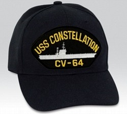 USS Constellation (CV-64) BALL CAP or PATCH