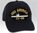 USS America (CV-66) BALL CAP or PATCH