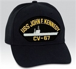 USS John F. Kennedy (CV-67) BALL CAP or PATCH