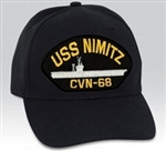 USS Nimitz (CVN-68) BALL CAP or PATCH
