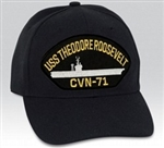 USS Theodore Roosevelt (CVN-71) BALL CAP or PATCH