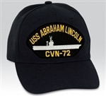 USS Abraham Lincoln (CVN-72) BALL CAP or PATCH