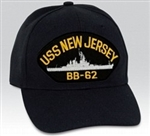 USS New Jersey (BB-62) BALL CAP or PATCH