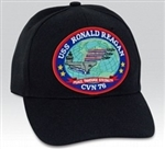 USS Ronald Reagan (CVN-76) BALL CAP or PATCH