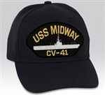 USS Midway (CV-41) BALL CAP or PATCH
