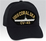 USS Coral Sea (CV-43) BALL CAP or PATCH