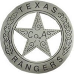 VIEW Texas Ranger Replica Badge