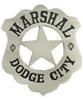 VIEW Marshal Dodge City Replica Badge