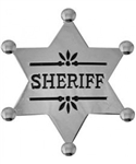 VIEW Wild West Sheriff Replica Badge