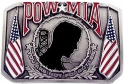 POW-MIA Belt Buckle (Limited)