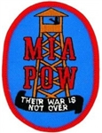 POW-MIA Guard Tower Their War Is Not Over Patch