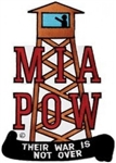 POW-MIA Guard Tower Their War Is Not Over - BACK PATCH