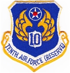 VIEW 10th Air Force Reserve Patch