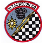 VIEW 16th TRS Patch