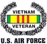 VIEW US Air Force Vietnam Veteran Window Sticker