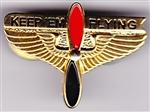 VIEW Keep 'Em Flying Lapel Pin