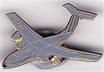 VIEW C-5 Galaxy Hat Pin