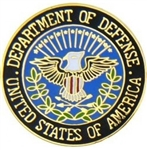 Department Of Defense United States Of America Lapel Pin (Limited Quantity Closeout)