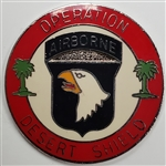 VIEW 101st AB Div Desert Shield Lapel Pin