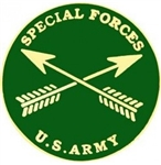 VIEW US Army Special Forces Lapel Pin