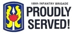 VIEW 199th Infantry Brigade Bumper Sticker