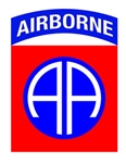 VIEW 82nd AB Div Window Decal