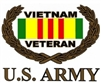 VIEW US Army Vietnam Veteran Window Sticker