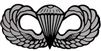 VIEW Basic Parachutist Badge Window Decal