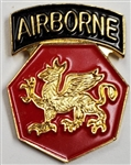 VIEW 108th AB Div Lapel Pin