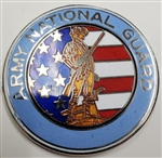 VIEW Army National Guard Medallion Lapel Pin