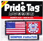 VIEW Coast Guard Pride Tag